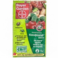 Конфідор Максі – інсектицид, Bayer
