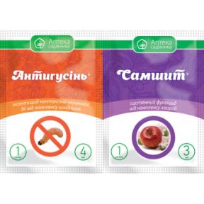 Антигусінь 4 мл + Самшит 3 мл – інсектицид, Укравіт