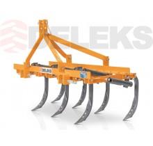 DE-140/7 Культиватор на 7 долотовидних лап для компактних тракторів.