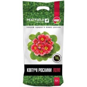 Субстрат для квітучих рослин «PEATFIELD»