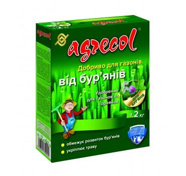 """Добриво гранульоване для газонів від бур""""янів, Agrecol"""