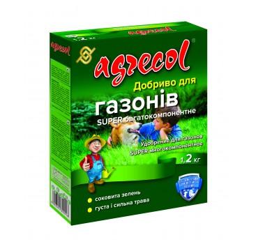Добриво гранульоване для газонів super багатокомпонентне, Agrecol
