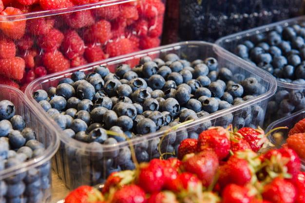 пластиковая тара для ягод